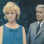 Yö vai päivä (1962). Ohjaus: Risto Jarva ja Jaakko Pakkasvirta. Kuvassa: Elina Salo ja Eino Krohn